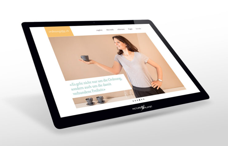 ordnungsfee.ch - Eva Kull - Individuelle WordPress-Website by Picture-Planet GmbH, home 3